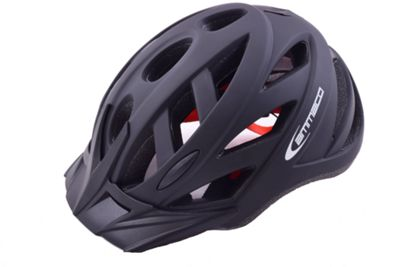 Ammaco Commuter Boys/Adults MTB Bike Helmet Black 54-58cm
