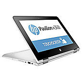 "HP 11-U003NA Pavilion X360, 11.6"" 2 in 1 Laptop, Intel Pentium, 4GB RAM, 1TB HDD - Silver"