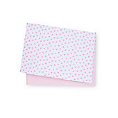B Baby Bedding Pink Jersey Cotton Cot Bed Sheets - 2 Pack Size cot bed