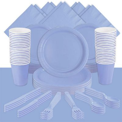 Baby Blue Deluxe Party Pack for 60