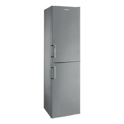 Hoover Frost Free Fridge Freezer, HVBF5172AHK - Stainless Steel