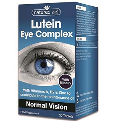 Natures Aid Lutein Eye Complex - 30 Tablets