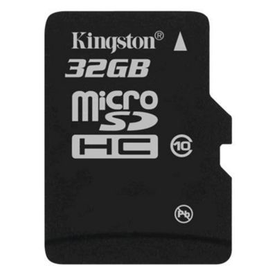 Kingston microSDHC 32GB Class 10 Card