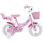 "Hacker Lovely Girls 12"" Wheel Bike Pink"
