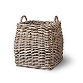 Tapered Rattan Log Basket
