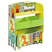 Liberty House Kid Safari Storage Box & Storage Fabric Bins