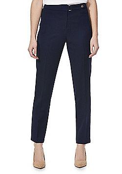 F&F Slim Leg Trousers - Navy