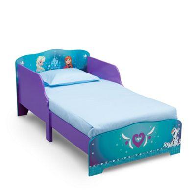 Delta Children Frozen Wooden Bed With Rail