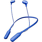 JVC HAFX39BT Bluetooth Neckband In-Ear Headphones - Blue