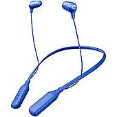 JVC HAFX39BT Bluetooth Neckband In-Ear Headphones - Blue