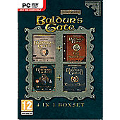 Baldurs Gate Compilation (Baldurs Gate + Tales of the Swordscoast + Baldurs Gate 2 Shadows of Amn + Baldurs Gate 2 Throne of Bhaal)