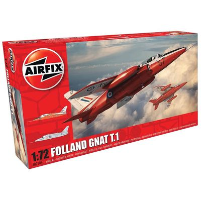 AIRFIX A02105 Folland Gnat T.1 1:72 Aircraft Model Kit