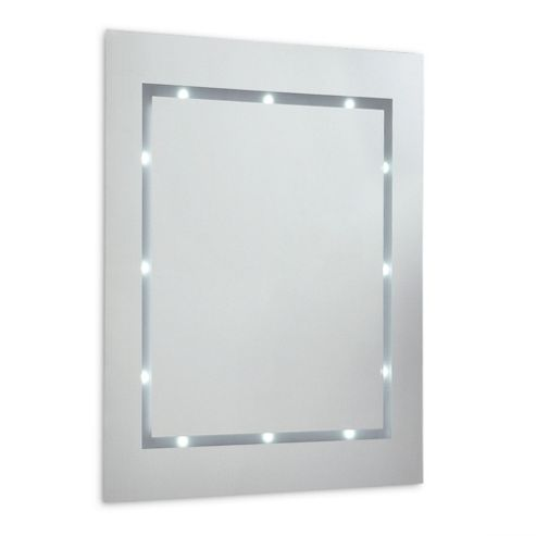 battery operated bathroom mirrors buy ip44 battery powered illuminated led bathroom mirror 17265