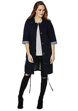 Only Denim Short Sleeve Coat - Indigo