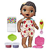 Baby Alive Snackin Lily Yellow Dress