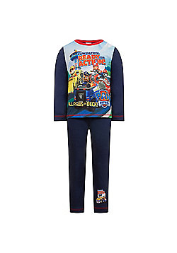 PAW Patrol Toddler Boys Pyjamas - Navy