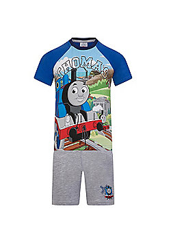 Thomas & Friends Toddler Boys Short Pyjamas - Blue