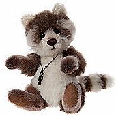 Charlie Bears Minimo Pitter Patter 17cm Mohair Teddy Bear