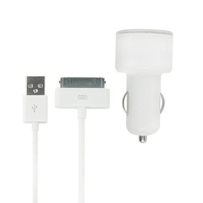 MiTEC iPhone 2 in1 In Car Adapter
