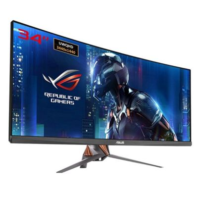 Asus ROG SWIFT PG348Q 34 QHD IPS G-Sync 100Hz Curved Gaming Monitor
