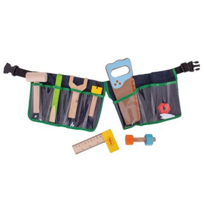 Bigjigs Toys Green Tool Belt
