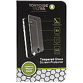 Tortoise™ Ultra Tempered Glass Screeen Protector, iPhone 5/5S/5C. Clear.