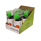 Phoenix Fitness 3 x Spiky Massage Balls