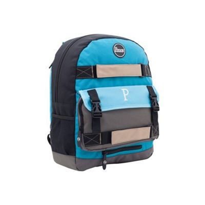 Penny Australia Penny Pouch Backpack - Blue/Grey