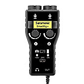 Saramonic SmartRig+ 2-Channel XLR/3.5mm Microphone Audio Mixer with Phantom Power Preamp & Guitar Interface