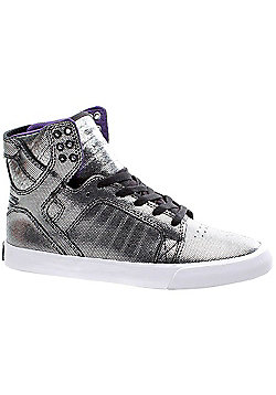 Supra Skytop Black/White/White Womens Shoe - Black