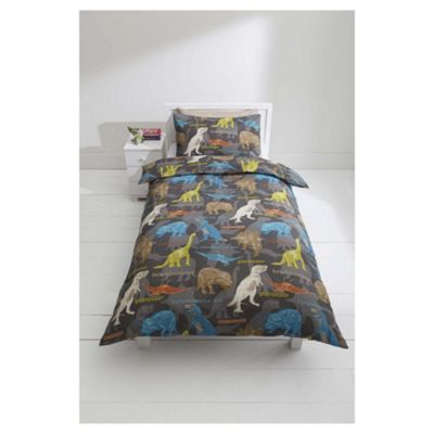 Tesco Kids Kids Dinosaur Duvet Cover Set Single