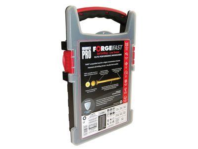 Forgefix ForgeFast Torx Compatible Wood Screw Organiser Pro 1000 Piece