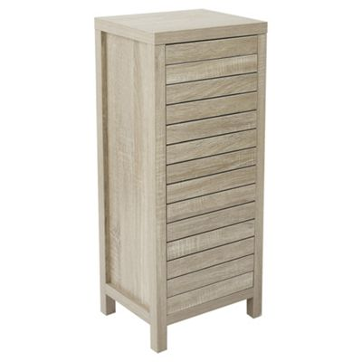 Lloyd Pascal Malvern Single Storage Cabinet Oak Effect