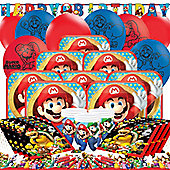 Super Mario Party Pack - Deluxe Party for 16