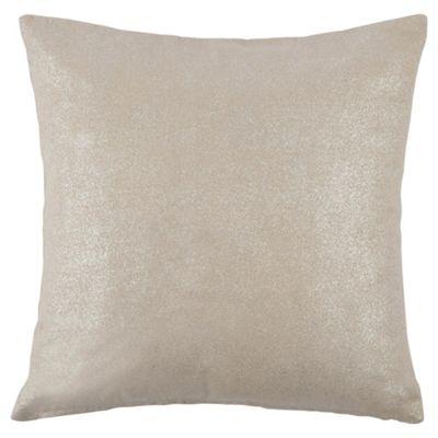 Tesco Crackle Silver Cushion