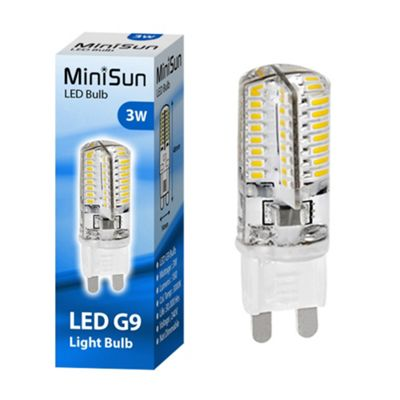Minisun Mini High Power 3W G9 LED Bulb 3000K 180lm