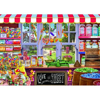 Sweet Shoppe - 1000pc Puzzle