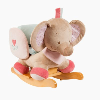 Charlotte and Rose - Rose the Elephant Rocker
