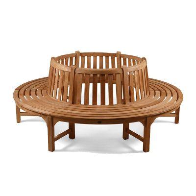 BrackenStyle Full Round Teak Seat/Bench