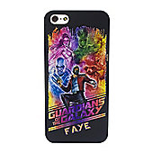Guardians of the Galaxy Personalised iPhone 5/5s Case - Group