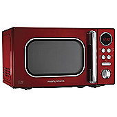 Morphy Richards 511502 Accents 20L Solo Microwave, Red