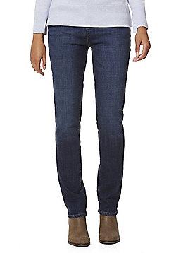F&F Authentic Mid Rise Slim Leg Jeans - Indigo