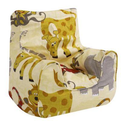 Children's Bean Bag Chair - Jungle Party