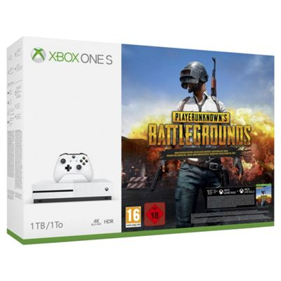 Xbox One S 1TB PlayerUnknown's Battleground (PUBG) Console