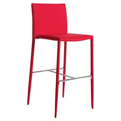 Wilkinson Furniture Kali Bar Stool - Red