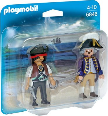 Playmobil Duo Pack Pirate and Soldier 6846