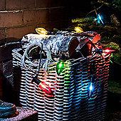 10 Multi Coloured LED C7 Style Christmas Lights