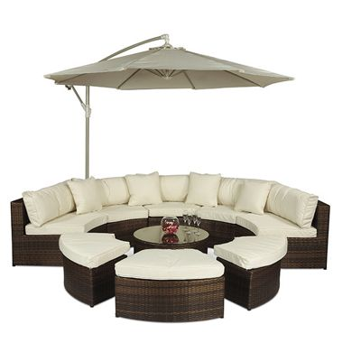 Rattan Garden Furniture Tesco garden sofas & lounging sets | garden - tesco