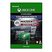 Madden NFL 18: MUT 12000 Madden Points Pack (Digital Download Code)