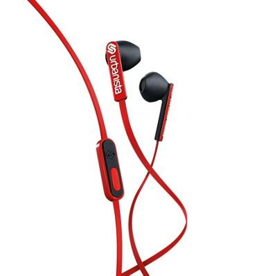 Urbanista San Francisco Earphones - Red Snapper
